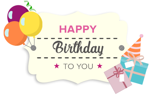 birthday - Happy Birthday Gift Card